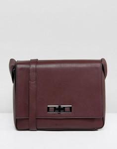 Бордовая сумка через плечо Nali - Красный