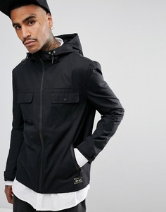 Черная куртка с капюшоном Gio Goi - Черный