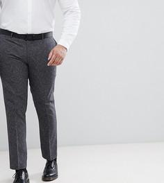 Зауженные брюки в крапинку Farah PLUS - Серый