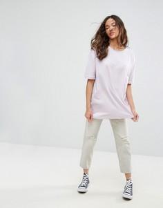 Оверсайз-футболка Vero Moda - Розовый