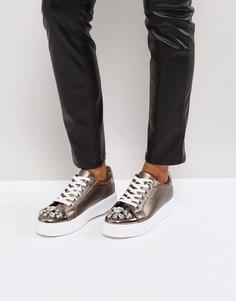 Кроссовки с камнями Park Lane - Черный