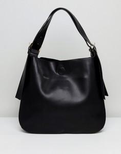 Объемная сумка на плечо Lavand - Черный