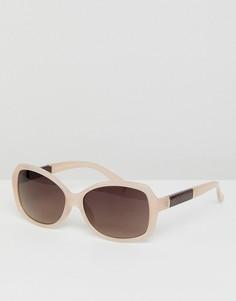 Бежевые солнцезащитные очки кошачий глаз Esprit - Бежевый