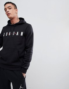 Черный худи Nike Jordan AH4509-010 - Черный