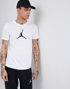 Белая футболка с логотипом 23/7 Nike Jordan 925602-100 - Белый