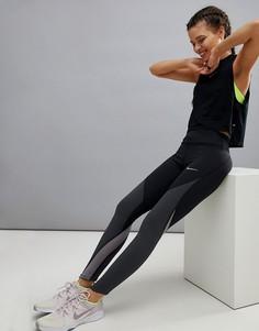 Леггинсы колор блок Nike Power Epic Luxe - Черный