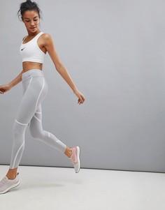 Серые леггинсы Nike Running Power Epic Luxe - Серый