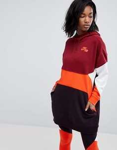Худи в стиле колор блок Nike - Мульти