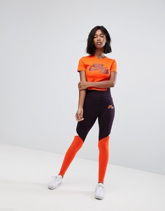 Леггинсы колор блок Nike - Мульти