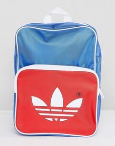 Синий рюкзак в стиле ретро adidas Originals adicolor CW2619 - Синий