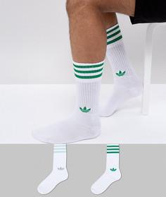 Зеленые носки adidas Originals adicolor CE5713 - Зеленый