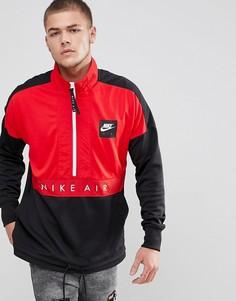 Черная куртка с короткой молнией Nike Air 918324-657 - Черный