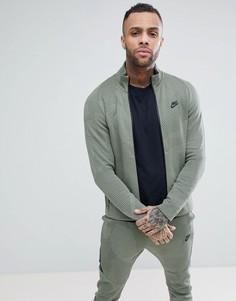 Зеленая спортивная куртка Nike Tech 886172-004 - Зеленый