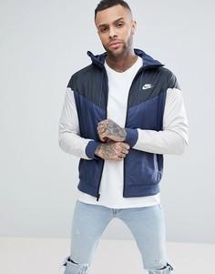 Серая куртка Nike 727324-471 - Серый