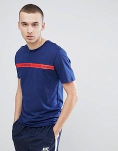 Темно-синяя футболка Nike Archive 943054-429 - Темно-синий