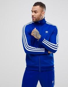 Синяя спортивная куртка adidas Originals adicolor Beckenbauer CW1252 - Синий