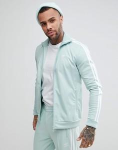 Синяя спортивная куртка adidas Originals adicolor Beckenbauer CW1253 - Синий