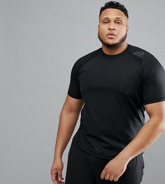 Черная компрессионная футболка adidas PLUS CF7235 - Черный