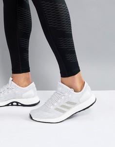 Белые кроссовки adidas Running PureBOOST BB6277 - Белый