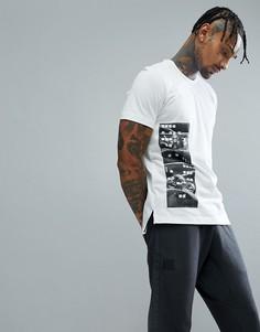 Белая футболка adidas Basketball Harden CE7305 - Белый