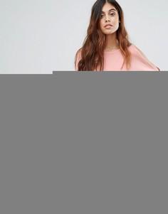 Oversize-футболка Vero Moda - Розовый