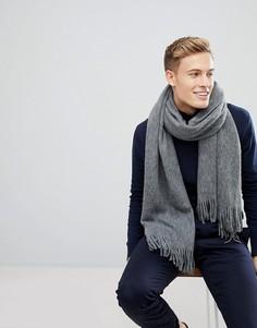 Серый мягкий шарф Esprit - Серый