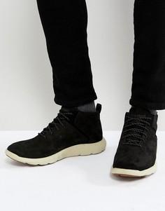 Нубуковые кроссовки Timberland Flyroam Super Ox - Черный