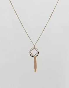 Ожерелье с кисточками Nylon - Золотой
