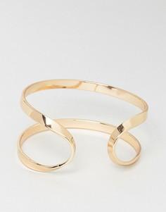 Браслет с геометрическим дизайном Nylon - Золотой