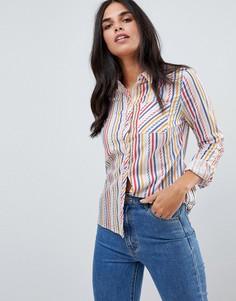 Рубашка в полоску Sugarhill Boutique - Мульти