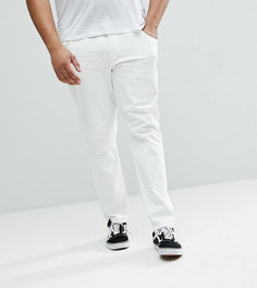 Белые джинсы узкого кроя ASOS PLUS - Белый