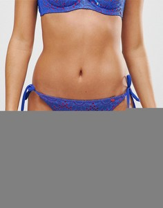 Плавки бикини с завязками по бокам Lepel Summer Days - Мульти