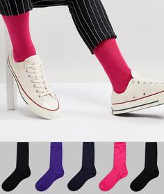 Набор из 5 пар носков ASOS - Мульти