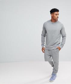 Серый меланжевый спортивный костюм ASOS - Серый