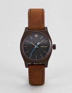 Светло-коричневые часы с кожаным ремешком Nixon X Star Wars Rey Time Teller - Рыжий