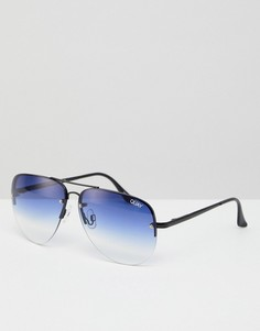 Солнцезащитные очки Quay Australia Muse - Черный