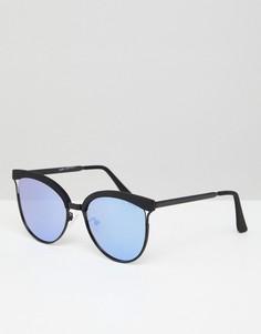 Солнцезащитные очки Quay Australia Star Dust - Черный
