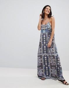 Пляжное платье с принтом Island Stories - Мульти
