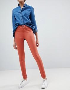 Облегающие джинсы с классической талией Waven Asa - Оранжевый