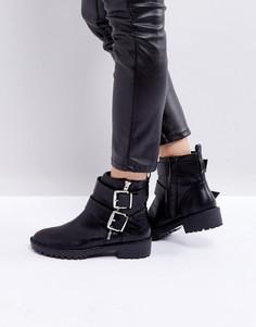 Ботинки с пряжками Pimkie - Черный