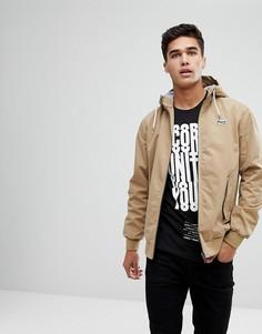 Легкая куртка с капюшоном Jack & Jones Originals - Бежевый