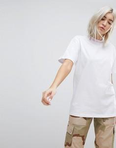 Свободная футболка с принтом Must Be Nice Rip N Dip - Белый
