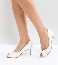 Туфли на каблуке средней высоты ASOS SUMMER Bridal - Кремовый