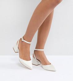 Туфли на каблуке средней высоты ASOS SCARLETTE Bridal - Кремовый
