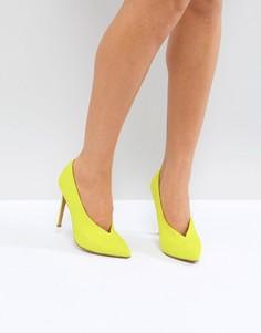Туфли на высоком каблуке ASOS PRIORITY - Желтый