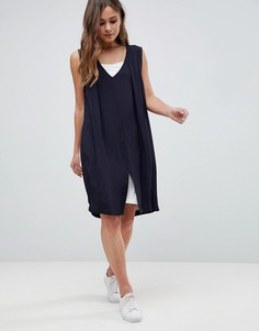 Двухслойное платье Bellfield - Серый