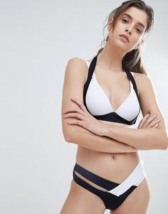 Монохромный купальник бикини Amy Lynn - Белый