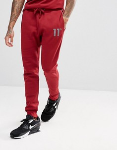 Красные джоггеры скинни 11 Degrees - Красный