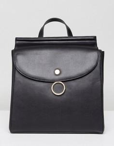 Рюкзак с кольцом Park Lane - Черный