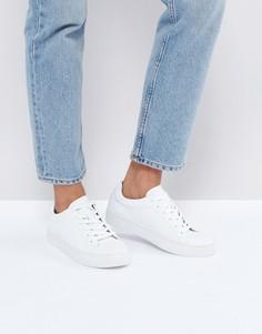 Белые кожаные кроссовки Vagabond Zoe - Белый